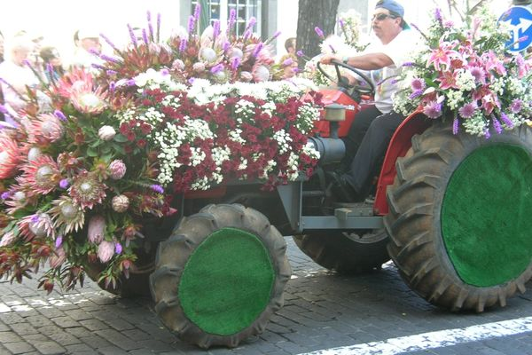 Blomstertraktor