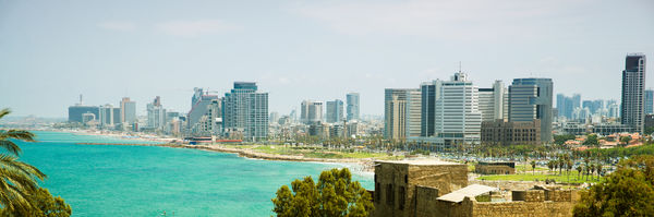 Panoramic View Tel Aviv From Jaffa