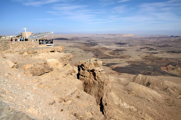 Ramon Crater Viewpoint Mindre Pix