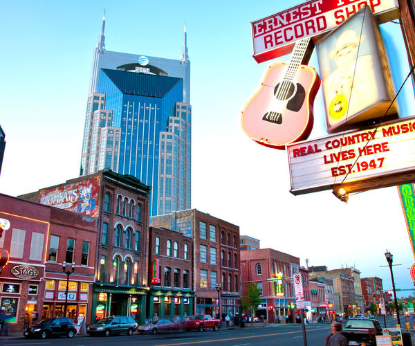 Downtown Nashville0816