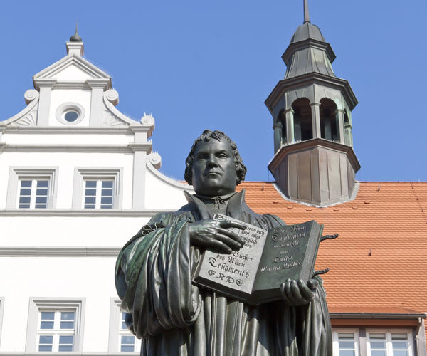 Luther Statue Wittenberg Shutterstock 235083622
